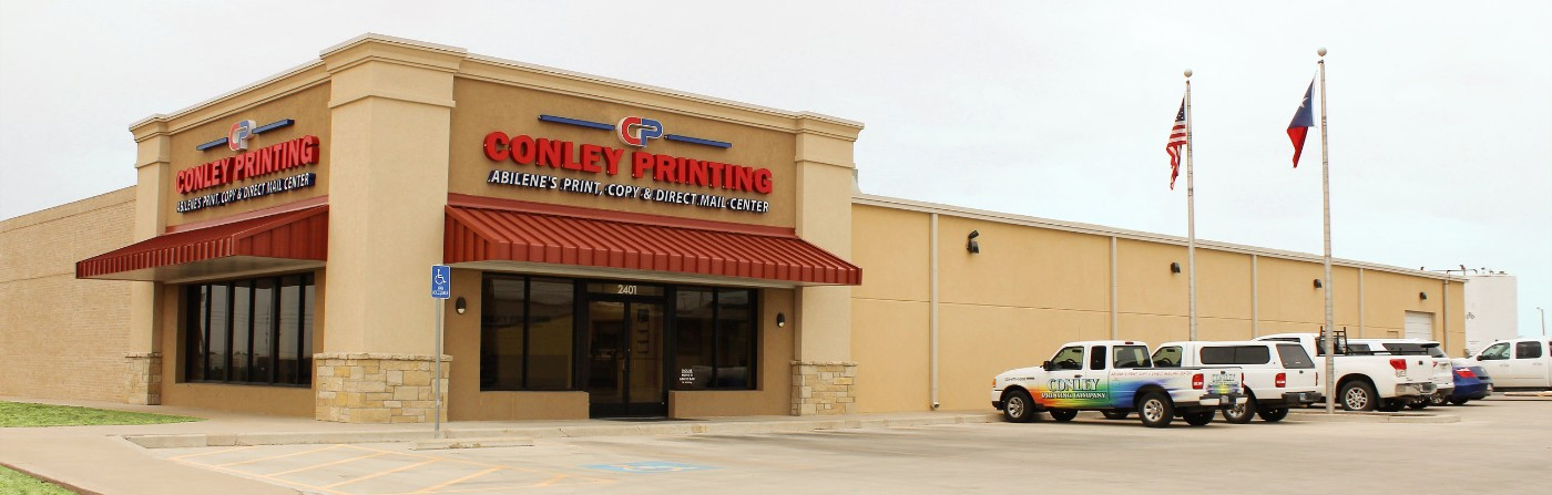 Conley Printing - Abilene's Print, Copy & Direct Mail Center