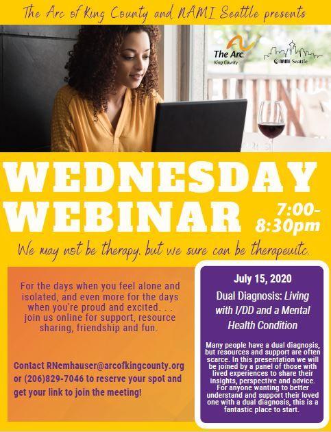 Wednesday Webinars: Dual Diagnosis