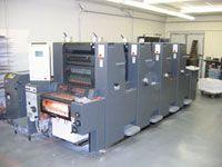 Heidelberg Printmaster - 4 Color Press