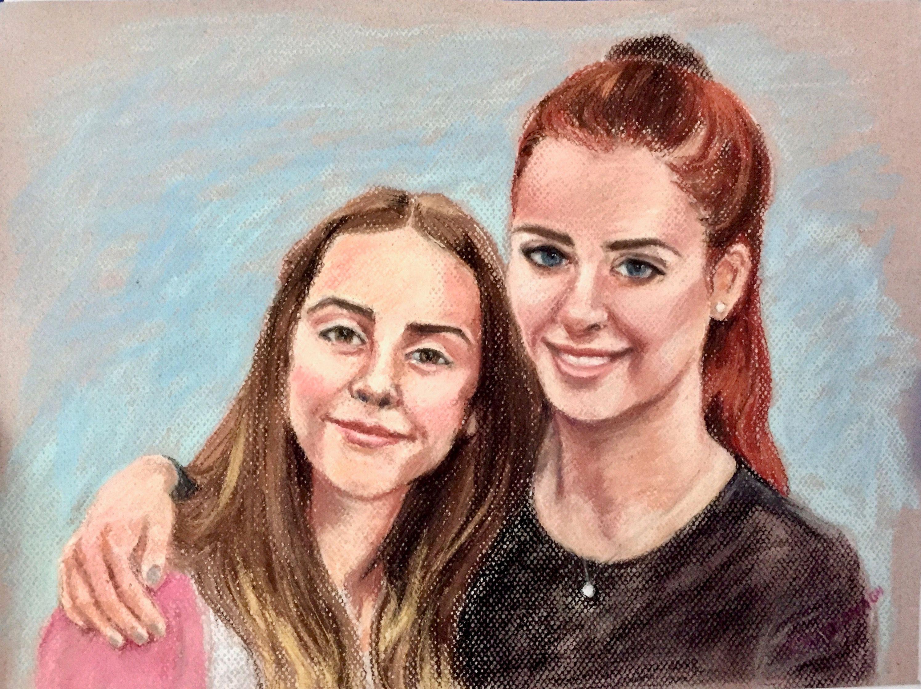 Artist: Christine MacDonagh, Pastel on Paper