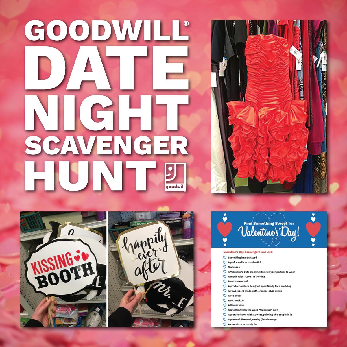 Goodwill Date Night Scavenger Hunt
