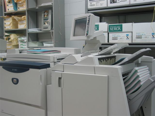 Xerox 4127 Digital Printer/Copier (for printing Specification manuals)