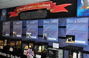 60 Years of Cryptologic Excellence Exhibit at the National Cryptologic Museum