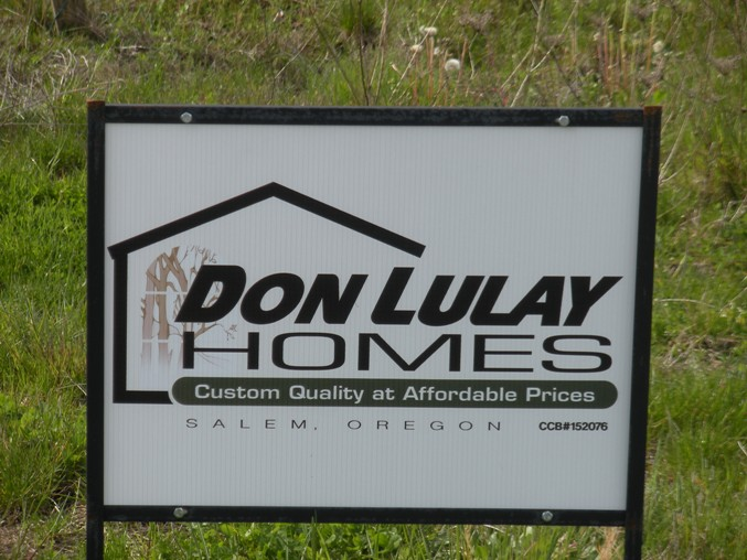 Don Lulay Homes Sign