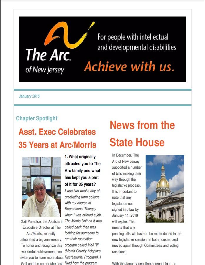 January E-Newsletter