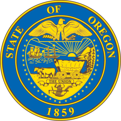 W32421 - Seal of the State of Oregon Wall Plaque (Version 2)
