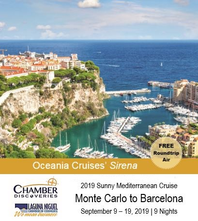September 9 - 19, 2019  Monte Carlo to Barcelona