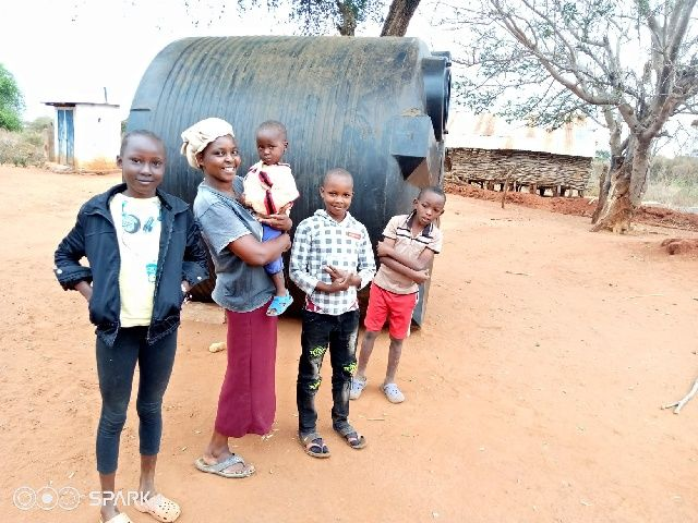 No Longer Walking Every Day to Fetch Water