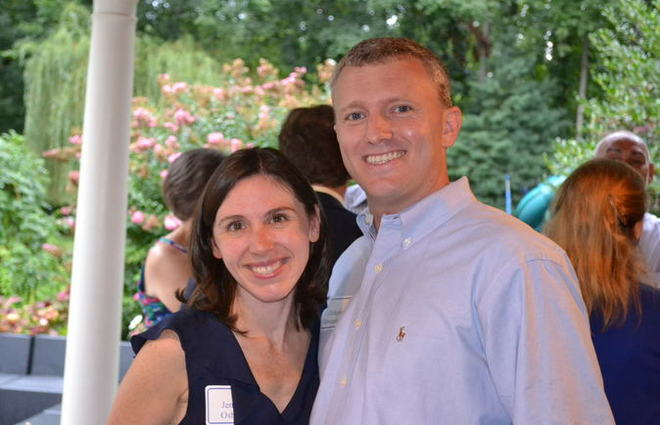 Jennifer Osborne & Chris Schwarzenbeck