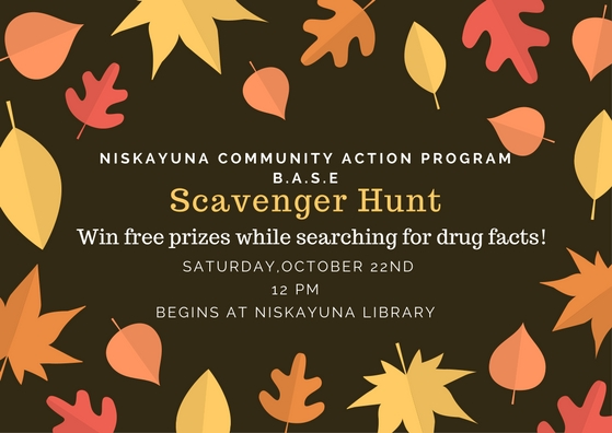 B.A.S.E (Be Aware, Stay Engaged) Scavenger Hunt October 22nd