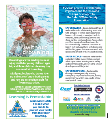 4x9 Rack Cards - 8-year-old Boy with Goggles