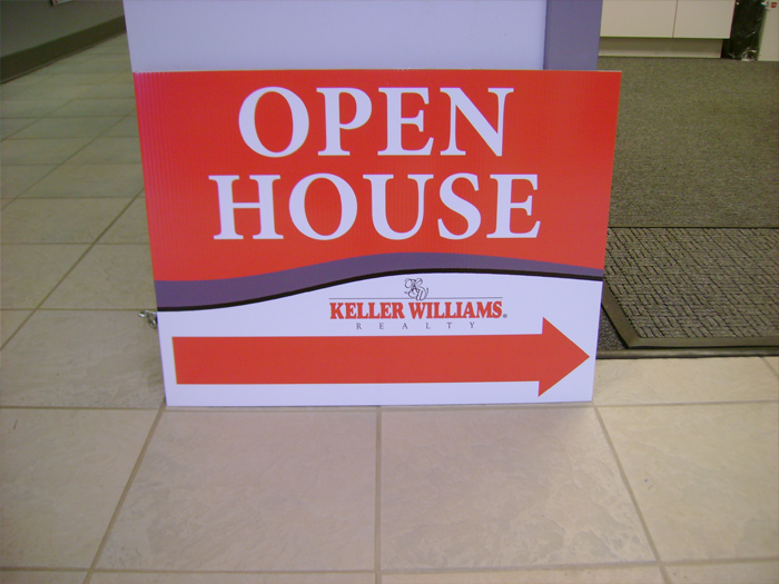 Keller Williams Yard Sign