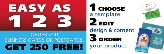 Free Post Cards and Business Cards