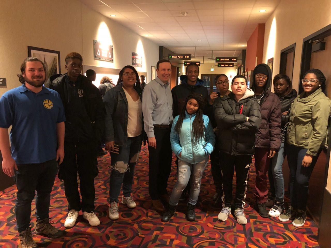 Chris Murphy Visits Wakanda