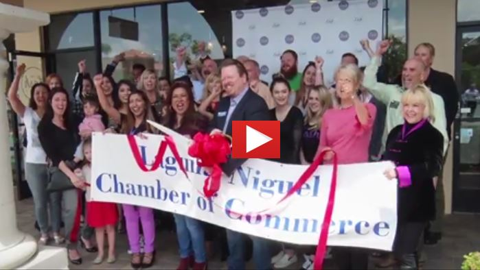 The Lash Lounge Ribbon Cutting