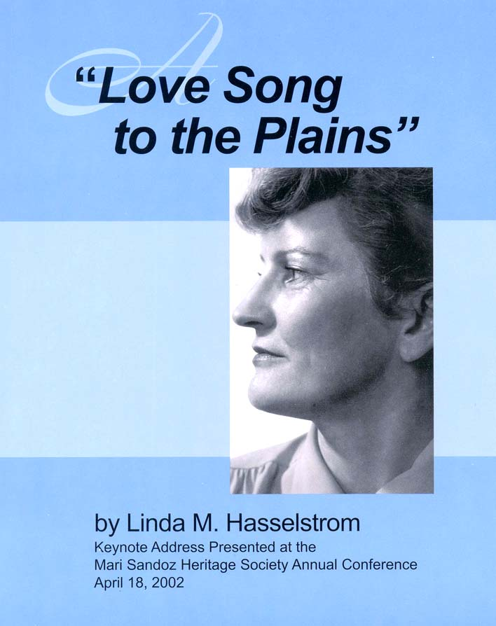 """Love Song To the Plains"""