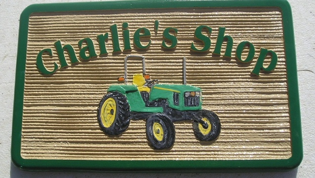 M2700 - John Deere Tractor Farm Sign