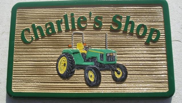M2700 - John Deere Tractor Farm Sign (Gallery 23)