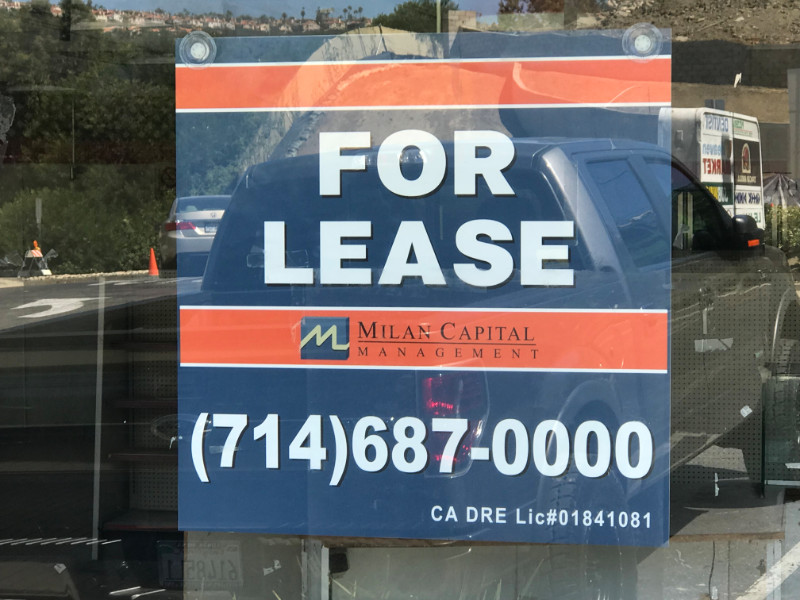 commercial real estate for lease signs anti graffiti whittier ca