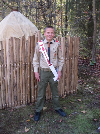 Adkins Arboretum Honors Federalsburg Scout for Construction of Paw Paw Playground