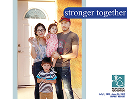 "Annual Impact Report - ""Stronger Together"""
