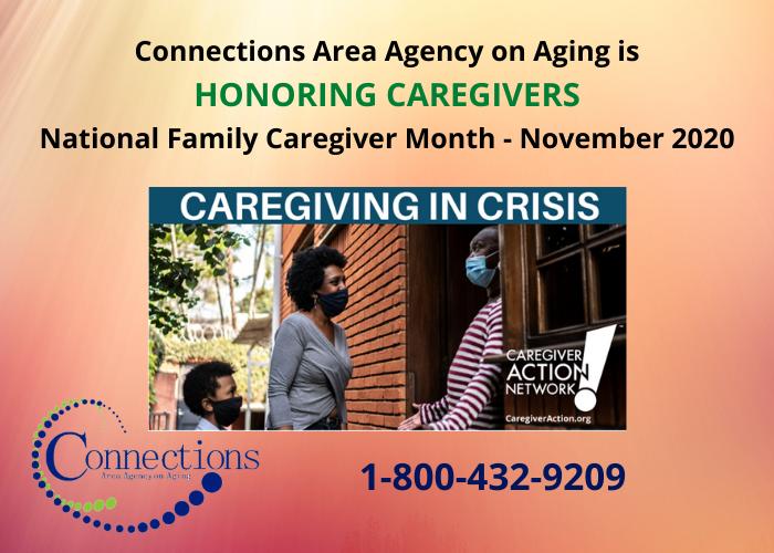 November is Caregiver Appreciation Month.