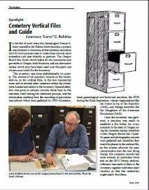 Cemetery Vertical Files