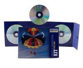 Pop-Up CD Mailer Packaging