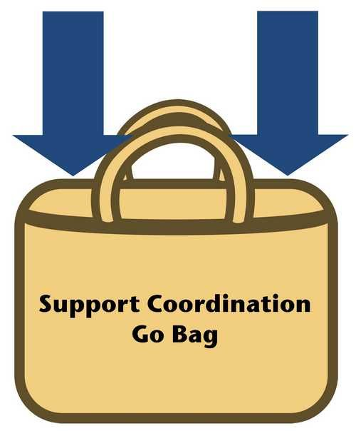 Support Coordination Go Bag