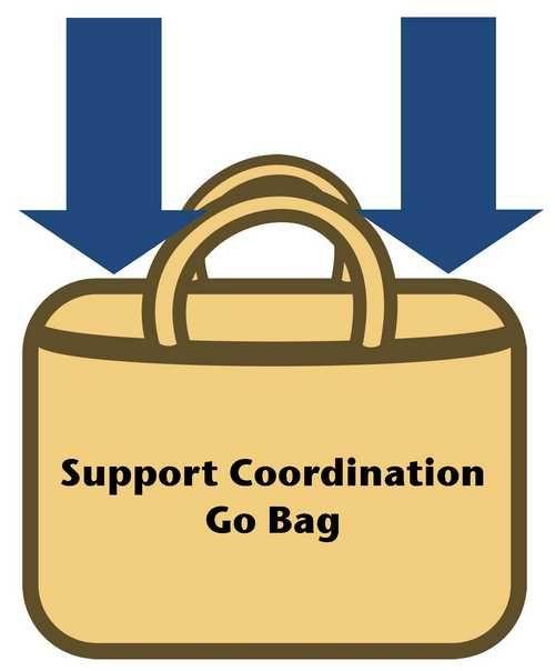 Support Coordination Go Bag