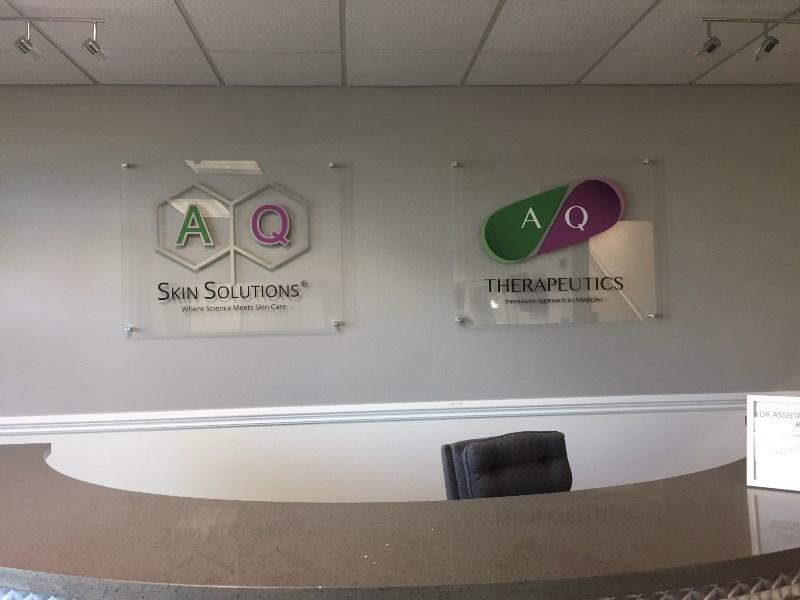 Custom Lobby Logo Signs Irvine CA