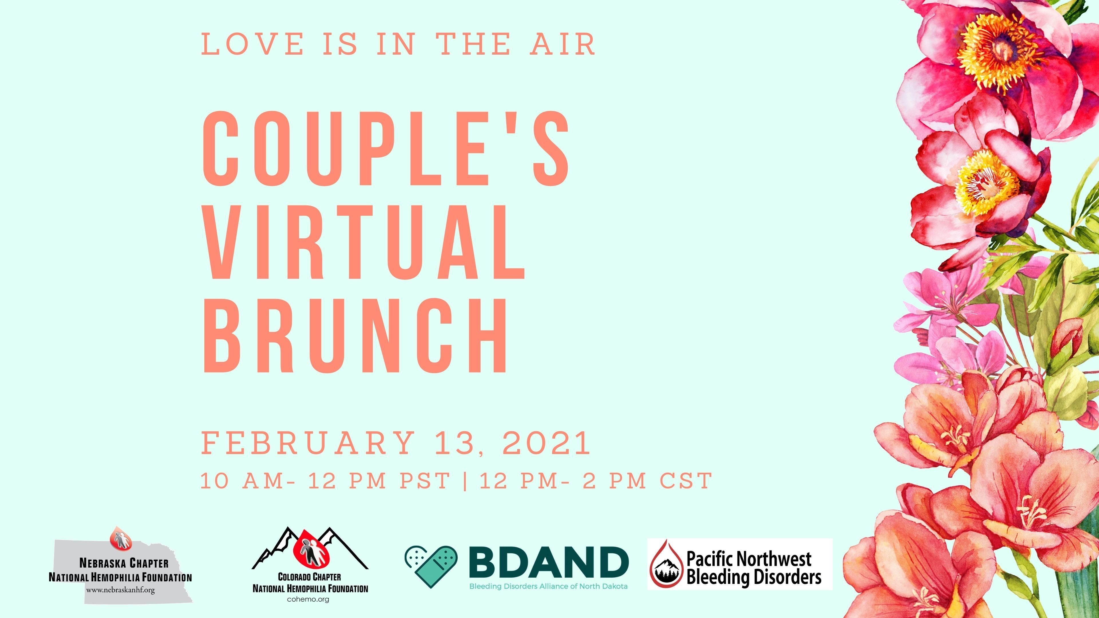 Couple's Virtual Brunch