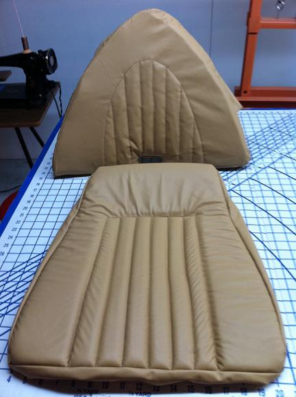 Reupholstering Snoopy