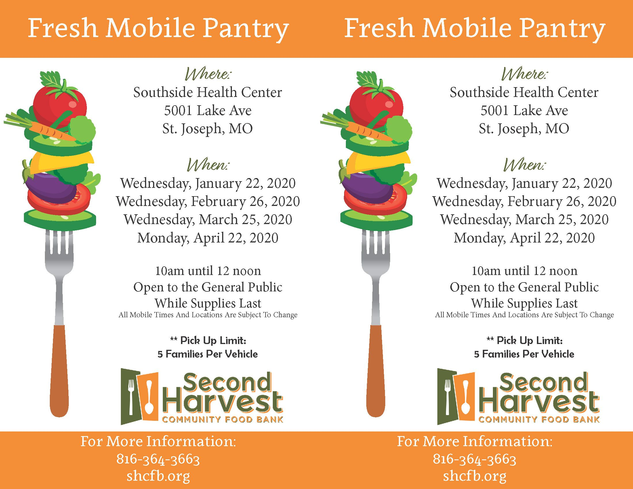 Southside St. Joseph Fresh Mobile Pantry