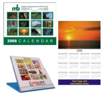 Custom Calendar Printing by CustomPrinting.ca & Brooklin Signs