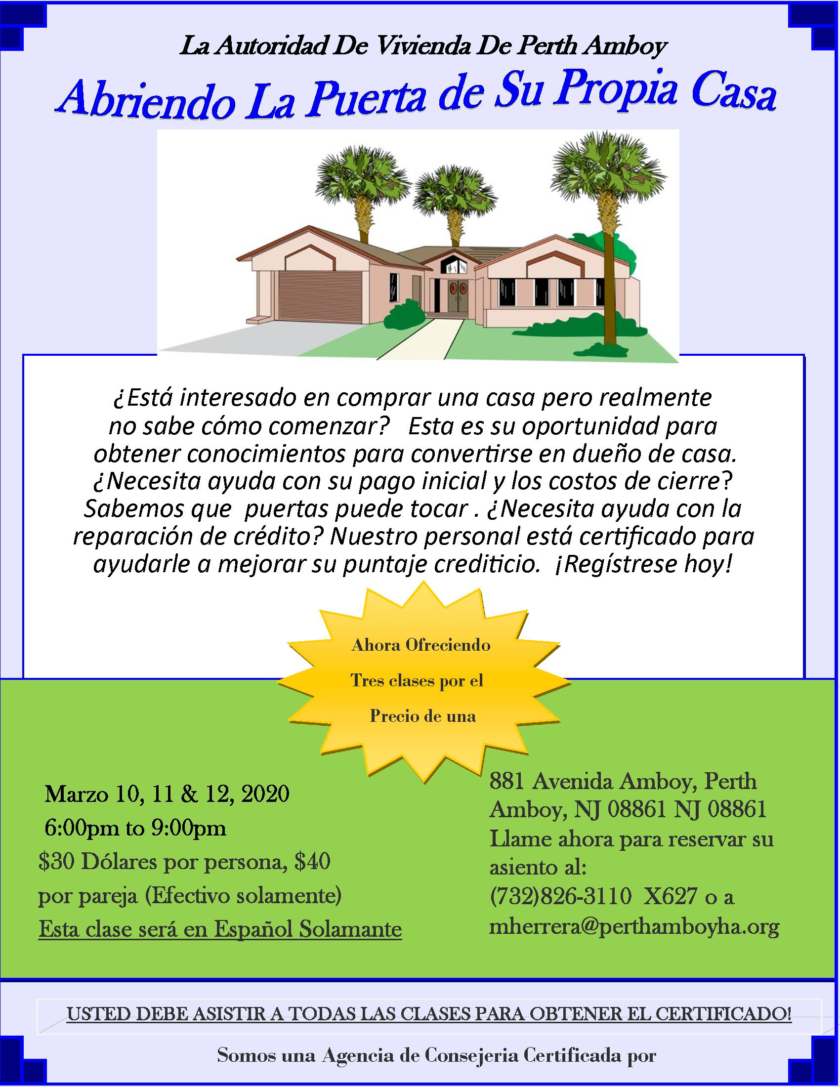 1st Time Home Buyer Workshop