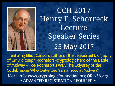 <b>2017 Henry F. Schorreck Lecture Speaker Series</b>