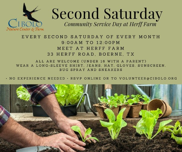 FARM: Second Saturday Community Service Day