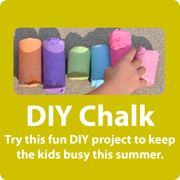 DIY Sidewalk Chalk