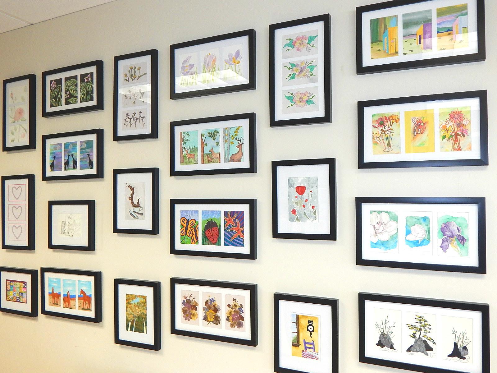 December:  TGP Art Show at St. Mark's Coffeehouse
