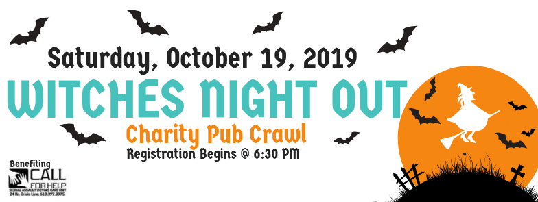 Witches Night Out Charity Pub Crawl
