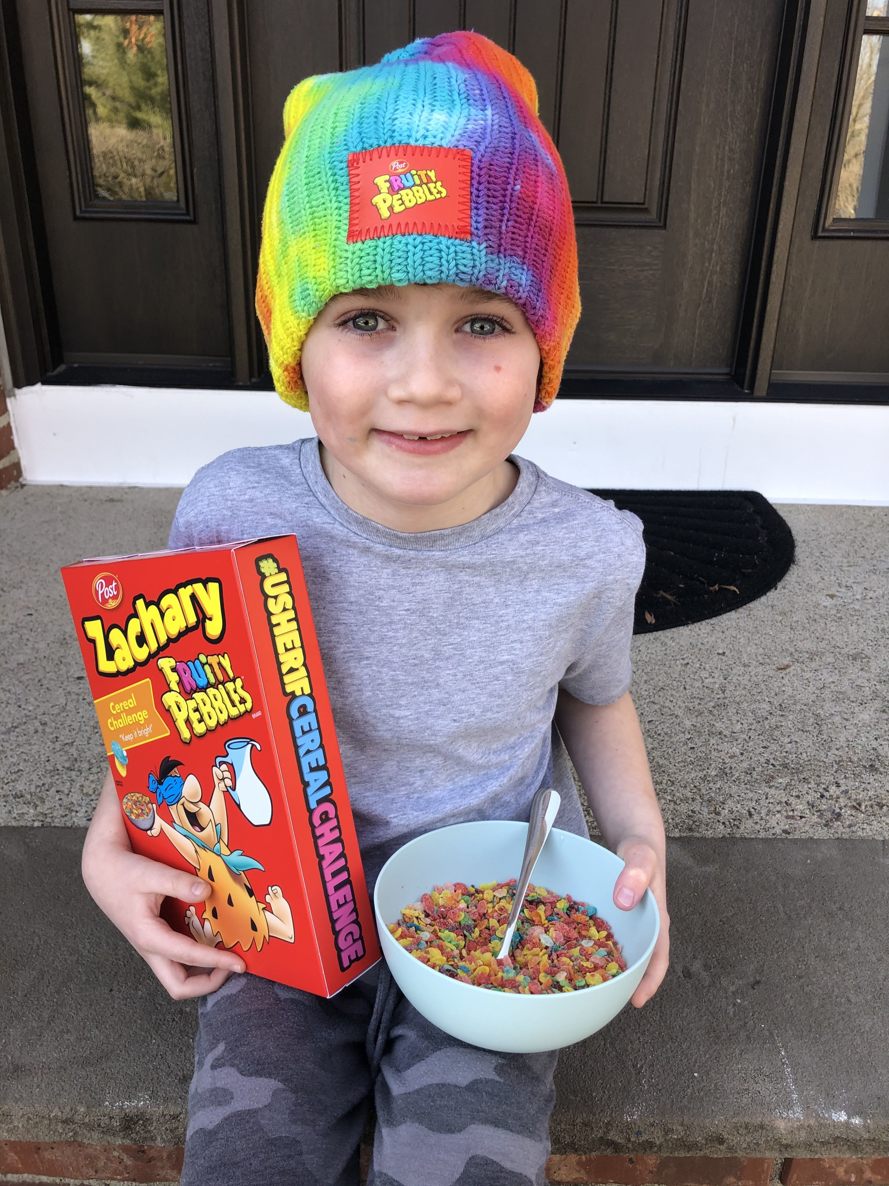 Breakfast of Champions: Zachary Root's Cereal Challenge