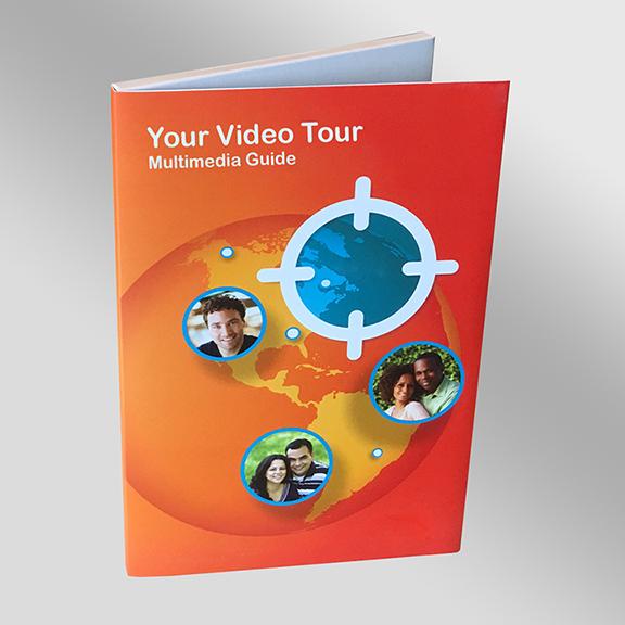 Video Brochure Packaging Cover