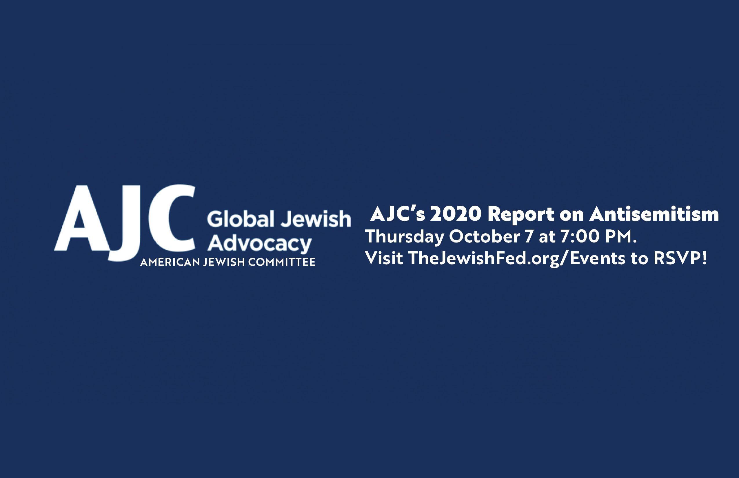 AJC's 2020 Survey on Antisemitism