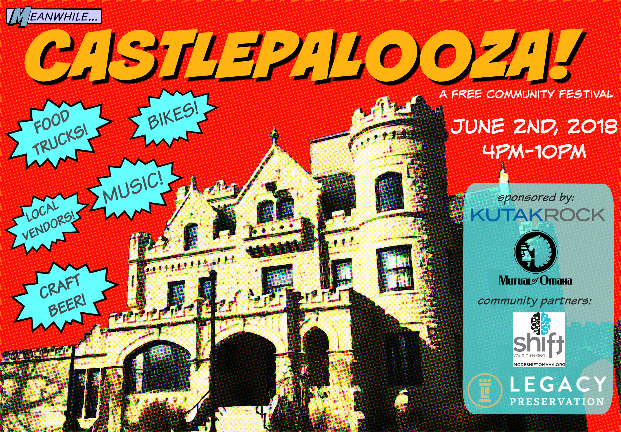 Save the Date for the First Annual Castlepalooza!