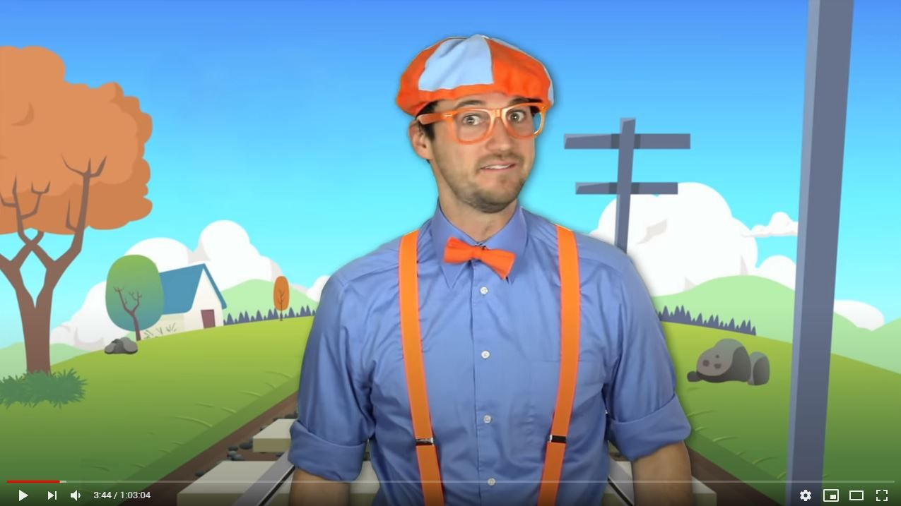 Learn Colors With Blippi