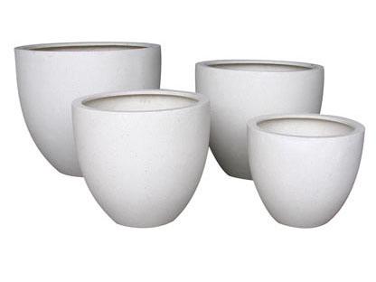Round Planters Cream