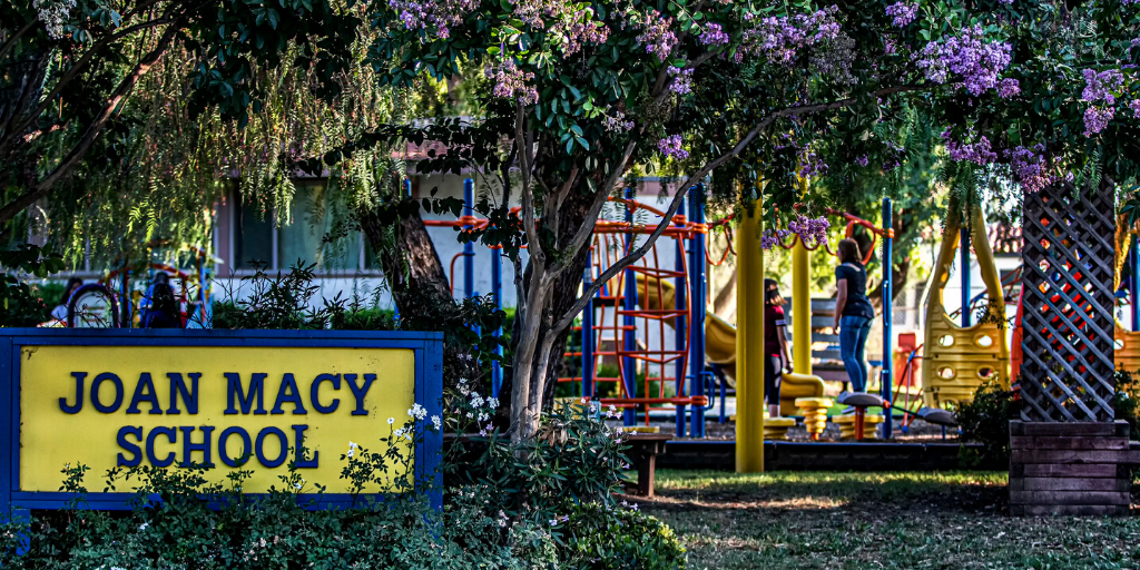 Joan Macy School; Distance Learning