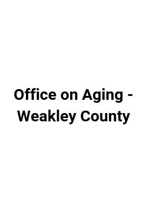Weakley County Office on Aging