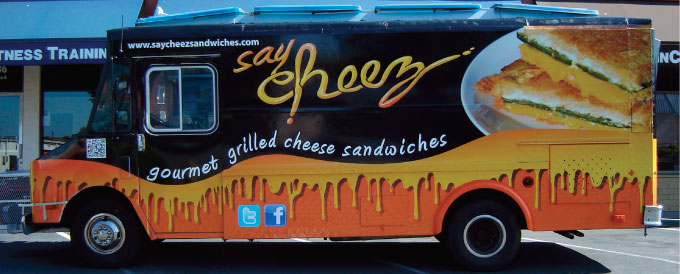 Say Cheese Food Truck